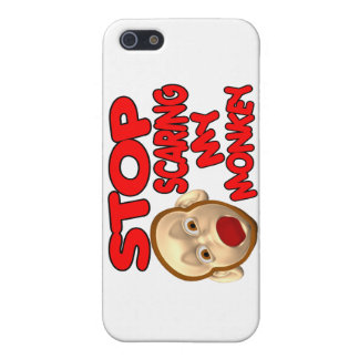 Stop Scaring My Monkey Cover For iPhone SE/5/5s