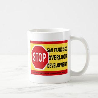 STOP SF Overlook Development Classic White Coffee Mug