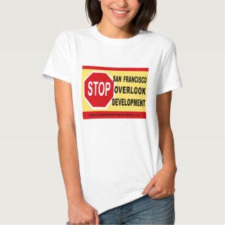STOP SF Overlook Development Tshirts