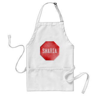 Stop Sharia Adult Apron
