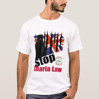 STOP SHARIA LAW (UK) T-Shirt