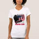 STOP SHARIA LAW (usa) T-shirt