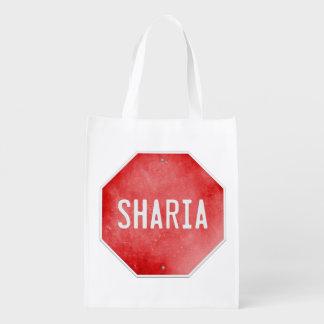 Stop Sharia Reusable Grocery Bag