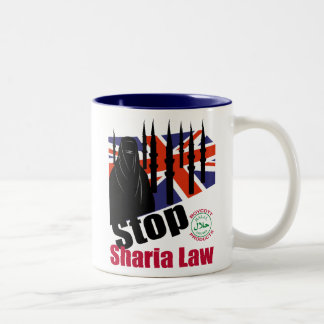 STOP SHARIA UK MUGS