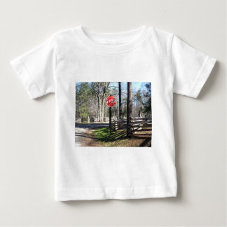 Stop Sign Baby T-Shirt