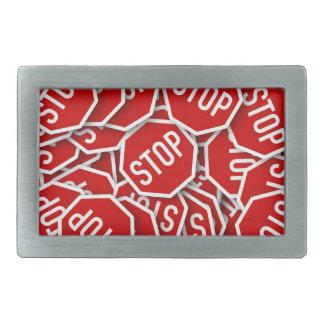 Stop Sign Belt Buckle