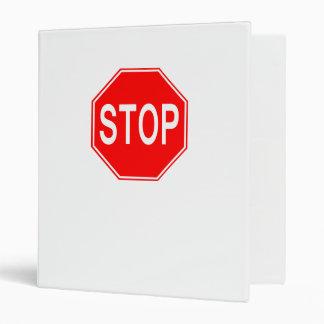 STOP Sign - Binder