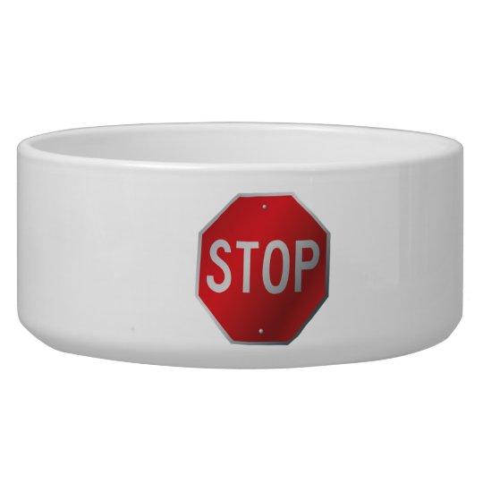 Stop Sign Bowl