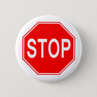 STOP Sign - Button