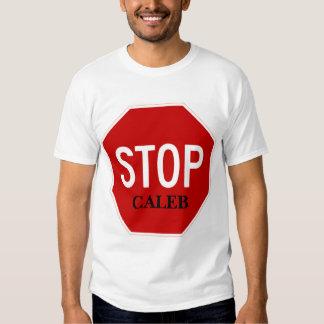 Stop Sign,  CALEB T-Shirt