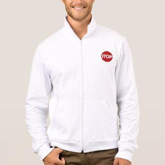 STOP SIGN California Fleece Zip Jogger Printed Jacket