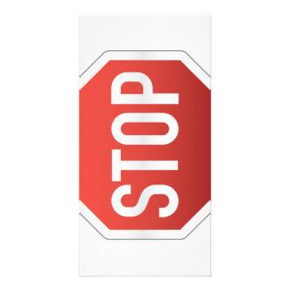 STOP sign Card