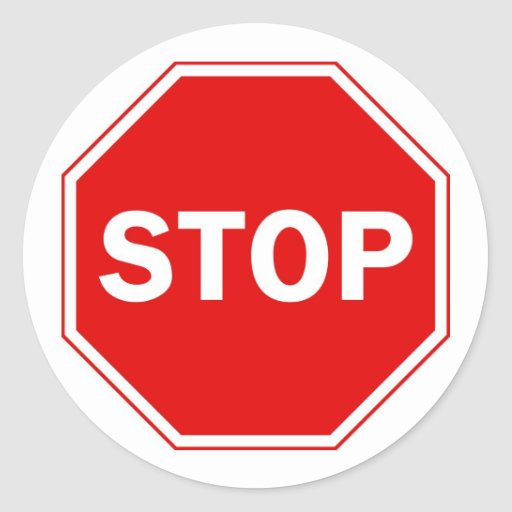 Stop Sign Classic Round Sticker  Zazzle. Zone Signs. Situations Signs. Domestic Violence Awareness Signs. Circle Signs Of Stroke. Terminal Cancer Signs. Prosperity Signs Of Stroke. Abnormal Signs Of Stroke. Brochure Signs Of Stroke