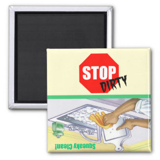 Stop Sign Clean Dirty Indicator Dishwasher Magnet