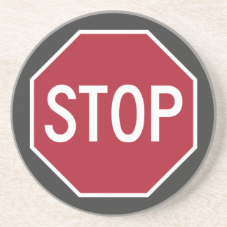 Stop Sign Coasters