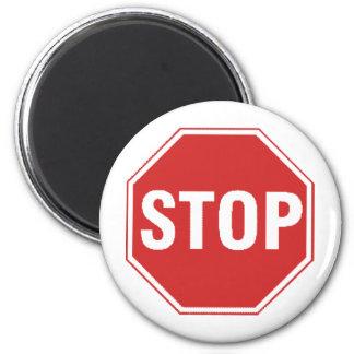 Stop Sign Design! Unique cool design! Magnet