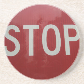 Stop Sign Drink Coaster