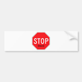 Stop Sign for a Cause Bumper Sticker