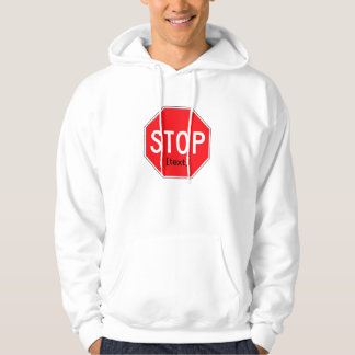 Stop Sign for a Cause Hoodie