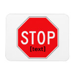 Stop Sign for a Cause Rectangle Magnets