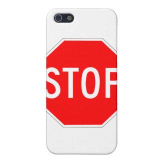 Stop Sign - Highway Hexagon iPhone 5 Covers