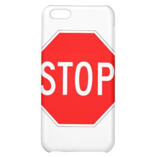 Stop Sign - Highway Hexagon iPhone 5C Cover