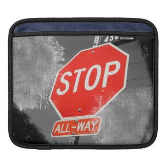 Stop Sign iPad Sleeve