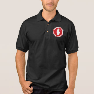 Stop Sign, Israel Polo Shirt