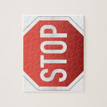 STOP sign Jigsaw Puzzles