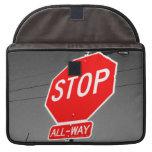 Stop Sign MacBook Pro Sleeve