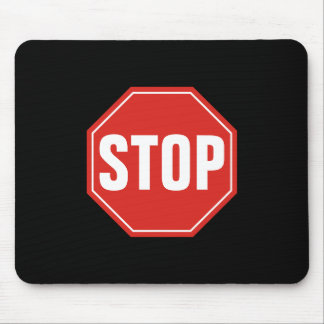 STOP Sign Mouse Pad