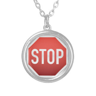 STOP sign Necklace