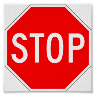 Stop Sign Notice