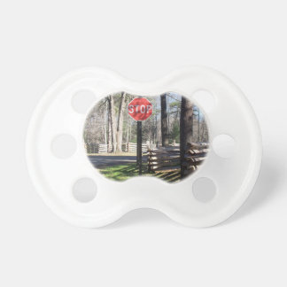 Stop Sign Pacifier
