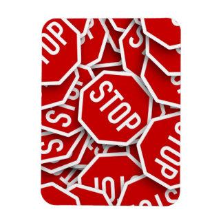 Stop Sign Flexible Magnet