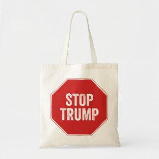 Stop Sign Stop Trump Tote Bag
