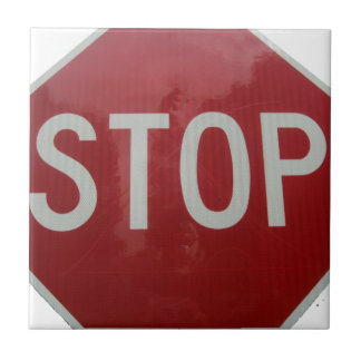 Stop Sign Tile