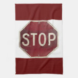 Stop sign towels