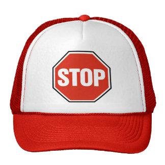 STOP sign Trucker Hat