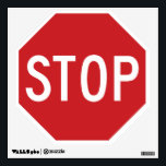 """Stop Sign Wall Decal<br><div class=""""desc"""">Classic octagon stop sign.</div>"""