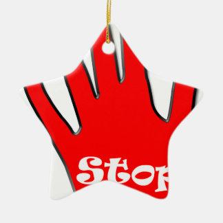 Stop signage ornaments