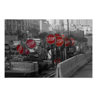 Stop Signs Posters