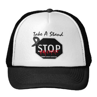 Stop Skin Cancer Take A Stand Trucker Hat