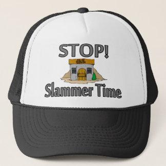 Stop Slammer Time Trucker Hat