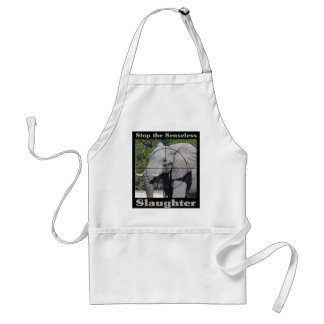 Stop Slaughter-Elephant Adult Apron