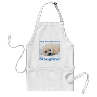 Stop slaughter-seals aprons