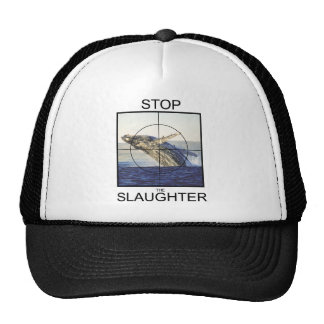 Stop Slaughter-whales Hats