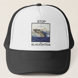 Stop Slaughter-whales Trucker Hat