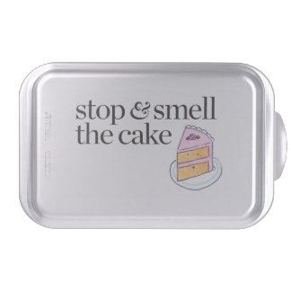 Stop & Smell the Cake Cake Pan
