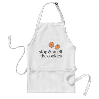 Stop & Smell the Cookies Adult Apron